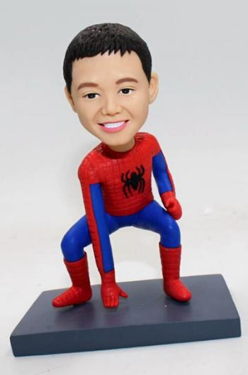 Personalized Bobbleheads Spiderman Kids