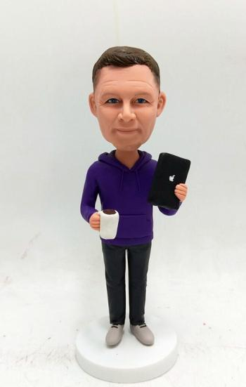 Personalized bobblehead-Office man