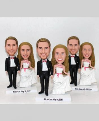 Bobbleheads Customized Wedding Gifts