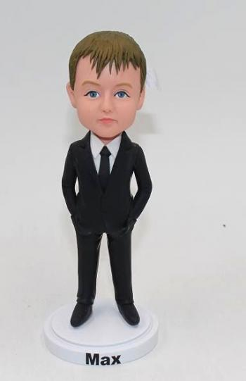 Ring Bearer bobblehead-Wedding bobblehead
