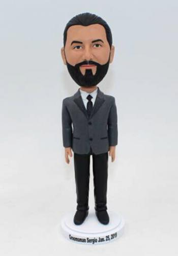 Custom bobble head Gifts for groomsman