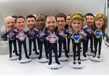 10 bobbleheads On sale