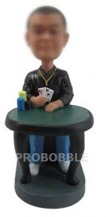 Poker Player Bobbleheads