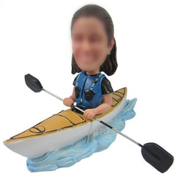 Kayaking Bobbleheads Custom dolls
