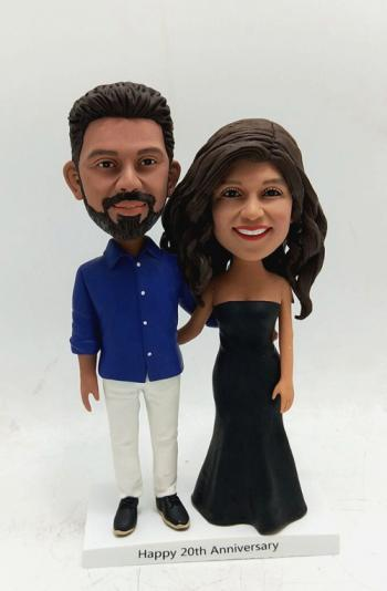 Custom bobblehead doll-husband and wife