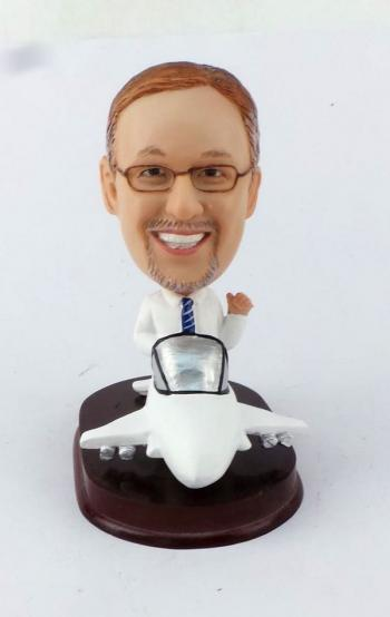 Airplane Pilot Gifts Bobbleheads
