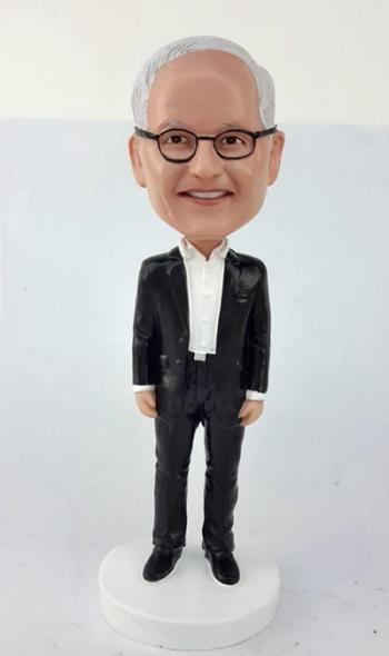 Custom Bobbleheads-Business man