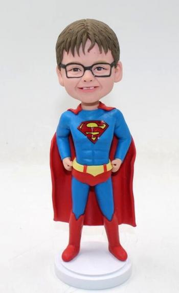 Little Superman bobbleheads