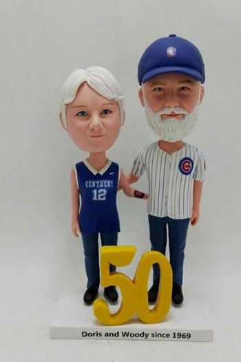 Anniversary gift- Custom bobble heads dolls