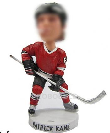 Personalized Bobbleheads - Hockey Player