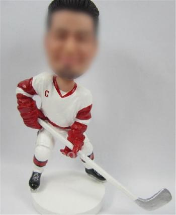 Personalized Hockey Player Bobbleheads