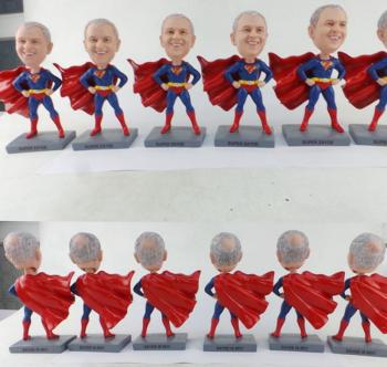 10 Custom bobbleheads Bulk Order retirement gift for boss