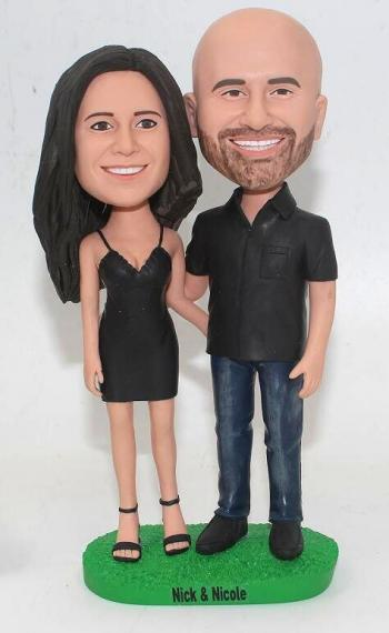 custom bobbleheads 20th anniversary gifts