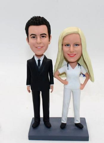 Gift bobblehead for Couple