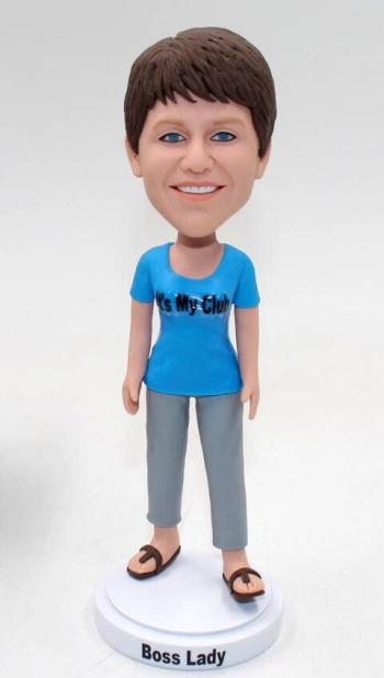 Casual bobbleheads female