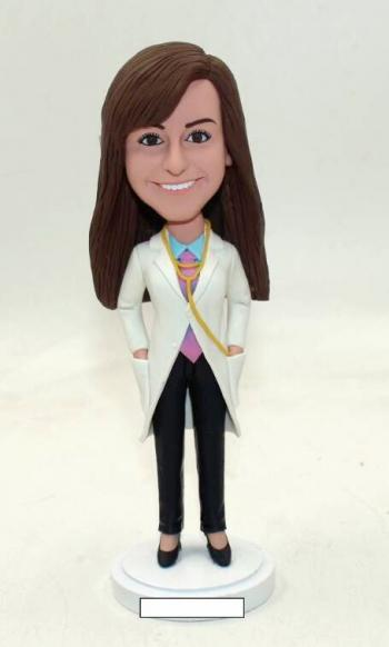 Gifts for Doctor female bobbleheads