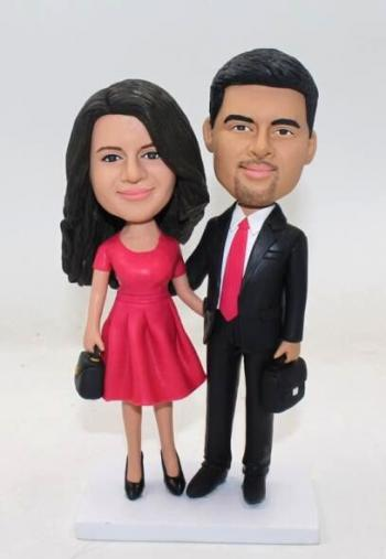 Bobbleheads for couple