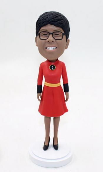 Custom Incredible superwoman bobbleheads