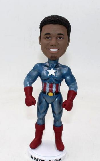 Personalized Bobbleheads Captain America