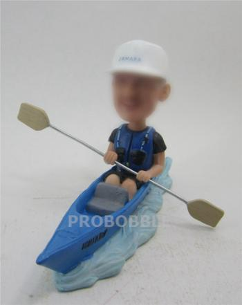 Rowing Bobblehead Doll