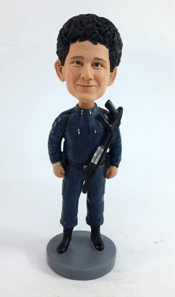 Custom Police Officer Bobblehead