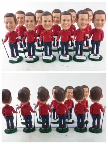 20 Custom Bobble heads wholesales dolls Free Shipping