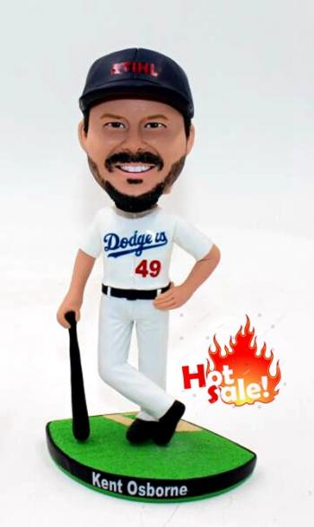 Dodgers -base ball player bobblehead