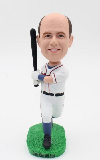 Baseball Player Bobblehead Doll