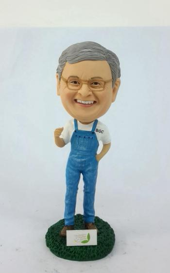 Custom bobblehead- Farmer