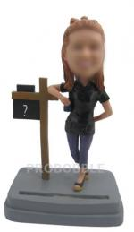 Personalized Bobbleheads Card Holder