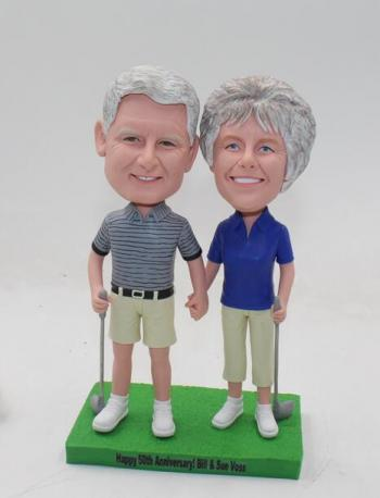custom 50th anniversary bobbleheads