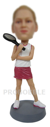Female Tennis Player Bobbleheads