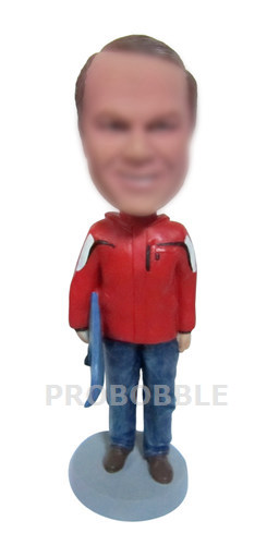 Male Skateboard Bobbleheads