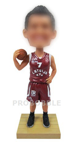 Personalized Basketball Bobble Heads