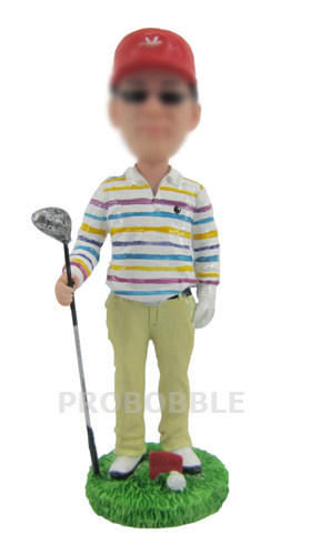 Man Playing Golf Bobble Heads