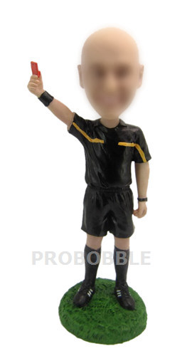 Custom Referee Bobblehead - Umpire
