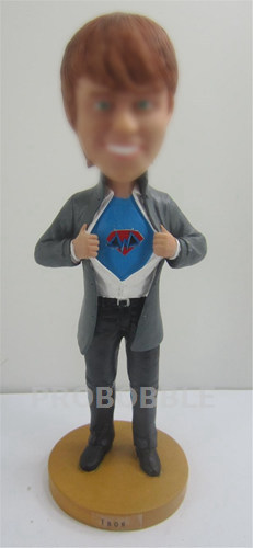 Personalized Bobbleheads Superman doll