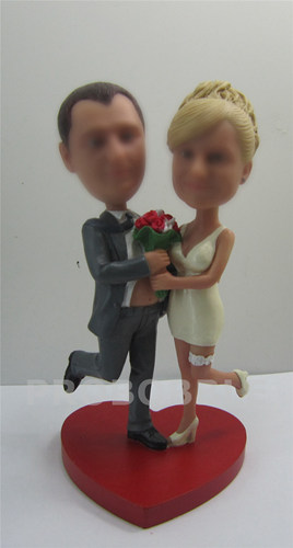 Personalized wedding gifts bobble heads