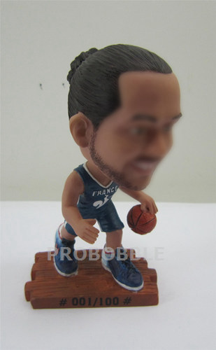 Male Playing Basketball Bobble Heads