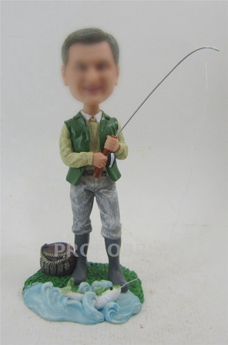 Personalized Fishing bobble heads