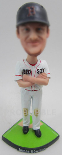 Custom Baseball Player Bobblehead Doll