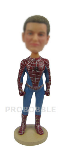 Personalized Spiderman Bobbleheads