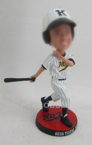 Custom Baseball Player Bobble Heads