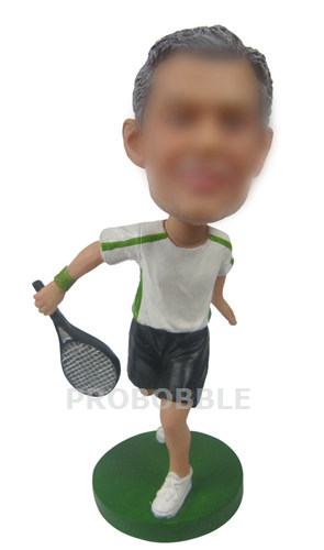 Tennis Player custom figurine