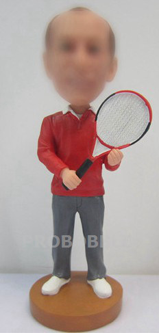 Custom Bobblehead - Tennis