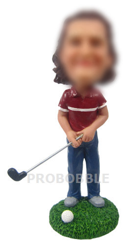 Gifts for Female Golfer Bobbleheads