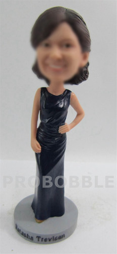 Wedding bobbleheads gift for bridesmaid
