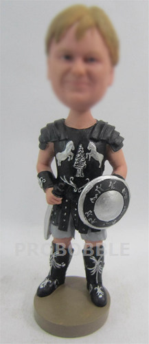 Personalized Gladiator Bobbleheads