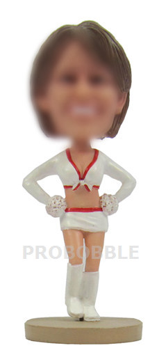 Custom Cheer leader bobbleheads