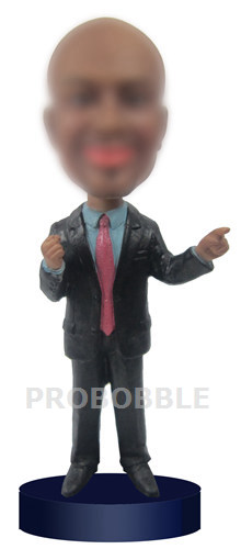 Custom Bobblehead Male Executive